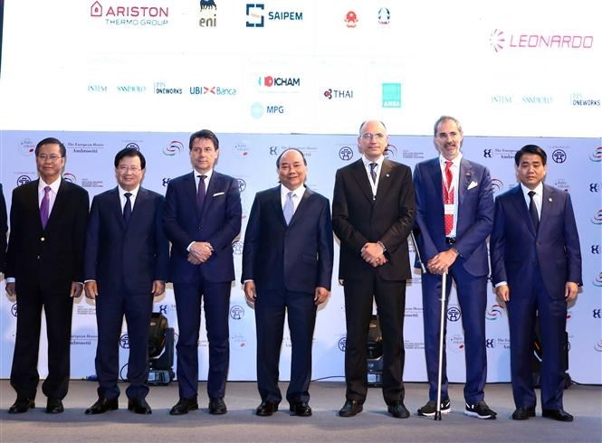 Vietnamese, Italian PMs co-chair Italy-ASEAN economic relations dialogue