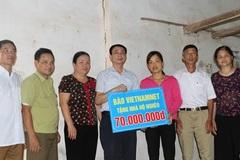 """Trao tặng """" Ngôi nhà mơ ước"""" cho 2 hộ nghèo ở Thái nguyên"""