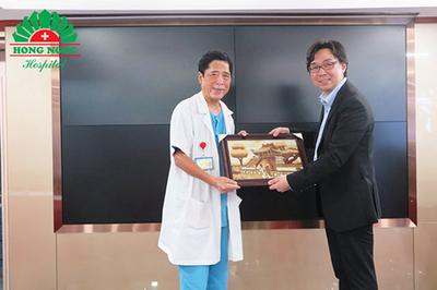 Chẩn đoán, điều trị ung thư tiêu hóa cùng chuyên gia Nhật