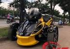 Dân chơi chi 800 triệu độ siêu mô tô ba bánh cực chất