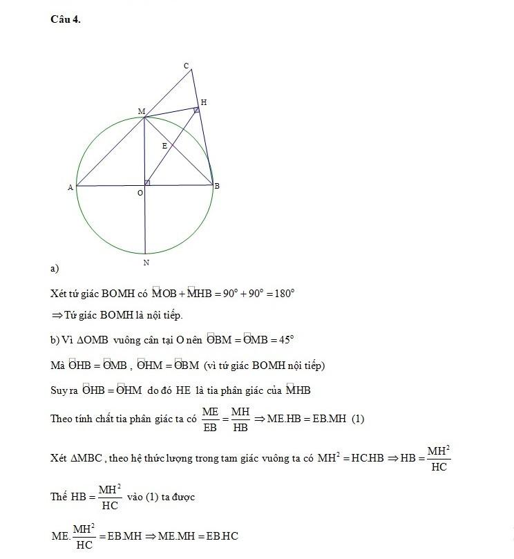 tuyển sinh lớp 10,Thi vào lớp 10,Đáp án môn toán