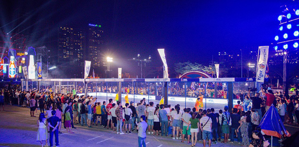 Tuấn Hưng, Tóc Tiên hẹn xem bóng đá đường phố tại Đà Nẵng