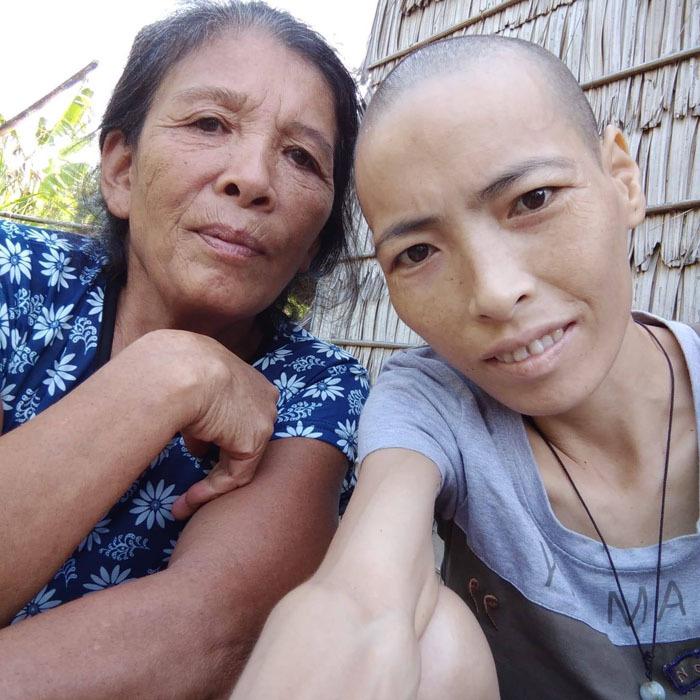 Người đàn ông Trà Vinh hơn 4 năm cưu mangcô gái bịung thư quen qua mạng