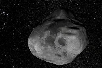 Tiểu hành tinh kích thước bằng sân bóng đá đang lao về Trái đất