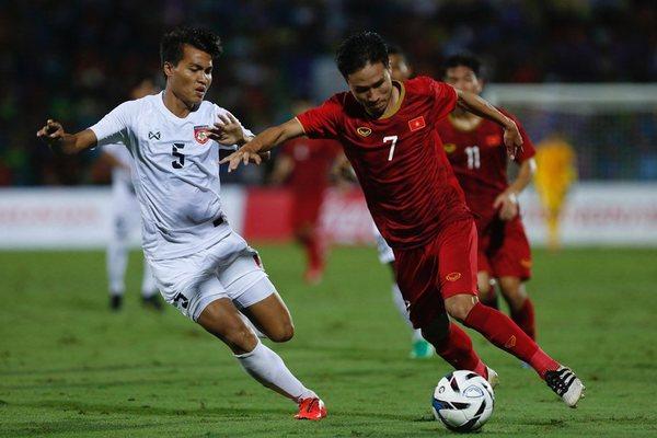 Video bàn thắng U23 Việt Nam 2-0 U23 Myanmar