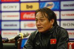 BHL U23 Việt Nam đã xin ý kiến chỉ đạo của HLV Park Hang Seo