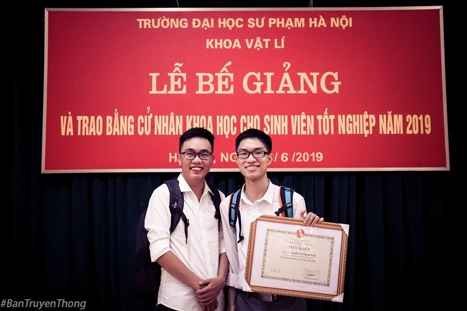 Bài phát biểu tốt nghiệp lay động của thủ khoa trường sư phạm