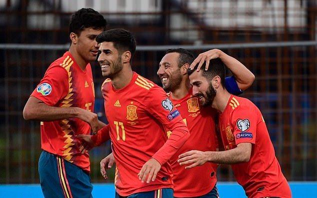 Tây Ban Nha thắng trận thứ 3 liên tiếp ở vòng loại EURO 2020