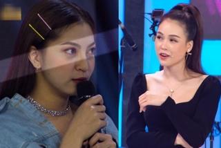 Sam bị bạn gái Quang Hải lườm cháy mặt trên truyền hình