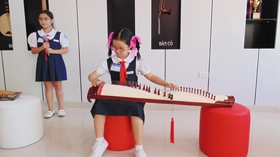teaching music in vietnam schools,Vietnam education,Vietnam students,Vietnam children