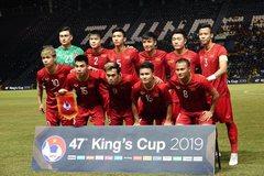 Tuyển Việt Nam tiếp tục thăng tiến trên BXH FIFA