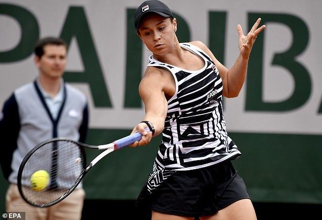 Ashleigh Barty,Roland Garros 2019