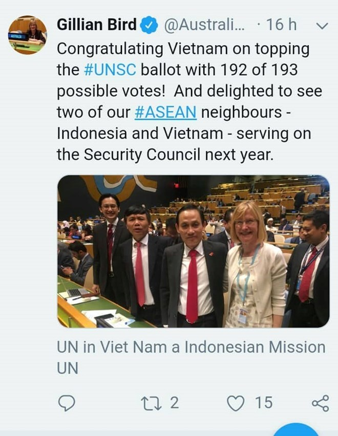 Countries congratulate Vietnam on winning election to UNSC