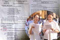 Đề thi vào lớp 10 môn văn ở Nghệ An gần giống đề kiểm tra học kỳ
