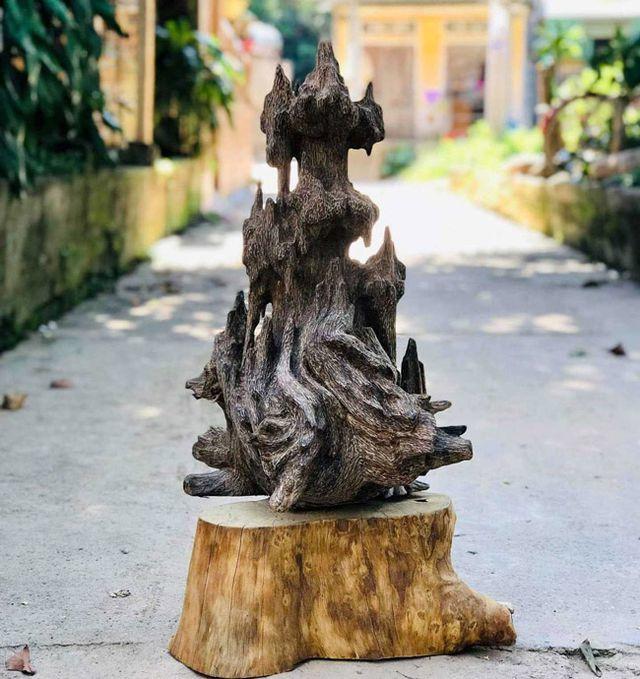 20 năm lặn lội, đại gia Hà thành ôm bộ sưu tập gỗ trầm lũa có 1 không 2