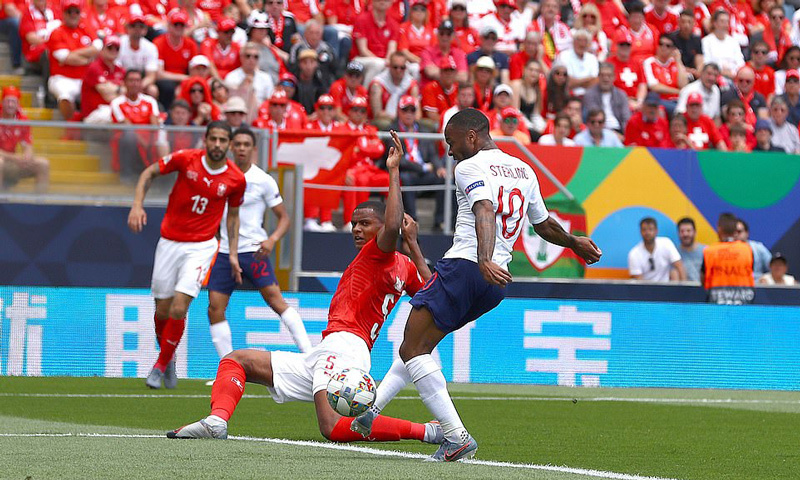 Tuyển Anh,Thụy Sỹ,Nations League
