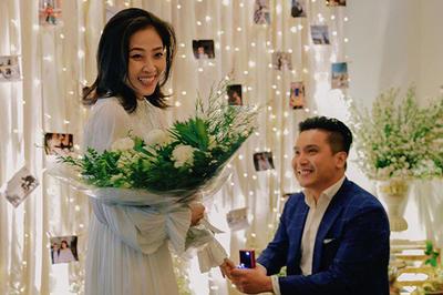MC Liêu Hà Trinh tiết lộ chồng sắp cưới tử tế, thông minh nhưng dễ khóc