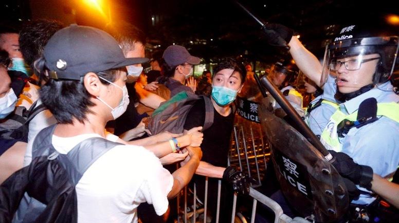 Hơn triệu người biểu tình rầm rộ ở Hong Kong