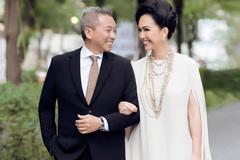 Diễm My diện hàng hiệu đắt tiền bên chồng đại gia hơn 2 tuổi