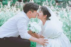 Con gái Choi Jin Sil tự tổ chức đám cưới ở tuổi 17