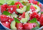 Cách làm salad dưa hấu chống ngấy, giải nhiệt ngày hè
