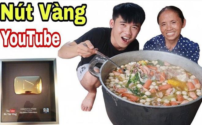 Chính thức được bật kiếm tiền Youtube, kênh Bà Tân VLog kiếm được bao nhiêu?