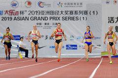 Vietnamese runner bags double golds at Asian Grand Prix Series 2019