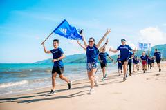 200 người chạy vì môi trường biển ở Quy Nhơn
