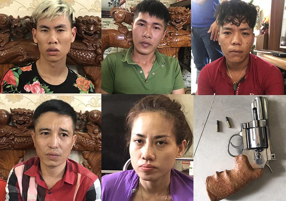 Bắt đôi vợ chồng đất Bắc cầm đầu băng tín dụng đen Sài Gòn