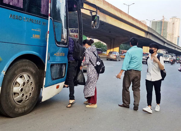 Hanoi needs solutions to curb decade-long illegal bus stops