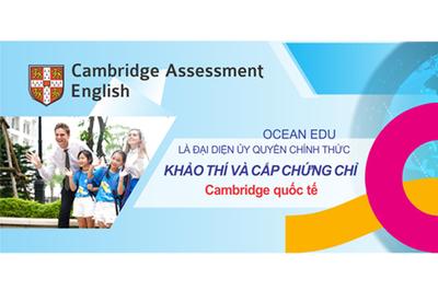 Ocean Edu giúp học sinh chinh phục chứng chỉ Cambridge