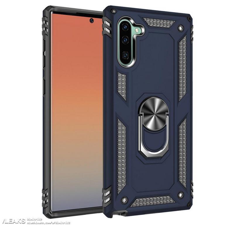 Ốp lưng xác nhận thiết kế mới của Galaxy Note 10