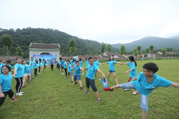 Trại hè '7 ngày sống ý nghĩa' ở Làng Nương, Yên Tử