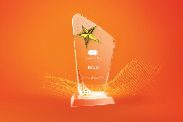 MSB - Top ngân hàng có thẻ debit Mastercard tốt nhất VN