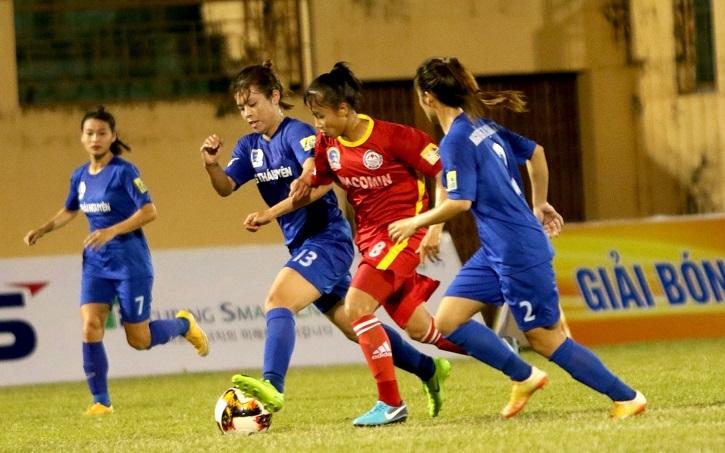 giải nữ VĐQG 2019,Phong Phú Hà Nam,Sơn La,bóng đá nữ