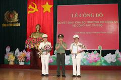 Bộ trưởng Công an bổ nhiệm 2 PGĐ Công an tỉnh Cao Bằng
