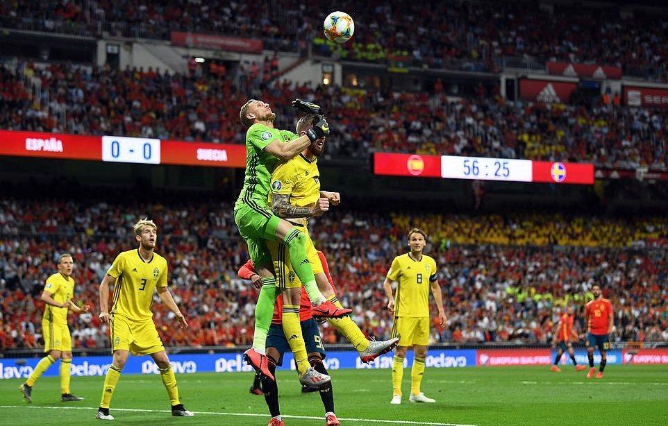 De Gea mất chỗ, Tây Ban Nha hạ Thụy Điển nhờ 2 quả penalty