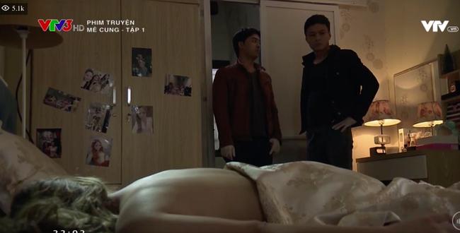 Hot girl nóng bỏng gây chú ý vì vai lên giường với Vũ trong 'Về nhà đi con'