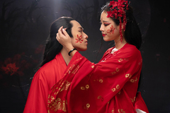 Hoa Trần đóng MV tình cảm với mỹ nam gốc Hoa kém 1 giáp
