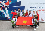 Taekwondo athletes bring medals home from Italy