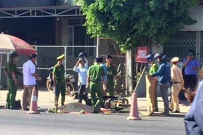 Xe tải tông chết người đàn ông ở Quảng Trị