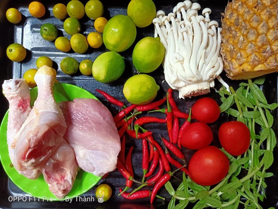 Cách nấu lẩu gà chua cay thơm ngon tại nhà