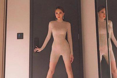 Hết hồn vì bộ đồ nude nhìn nhầm dễ hỏng mắt của người đẹp Việt