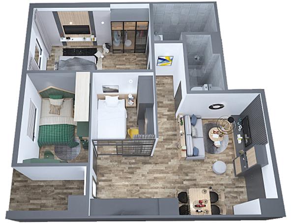 chung cư,căn hộ mẫu