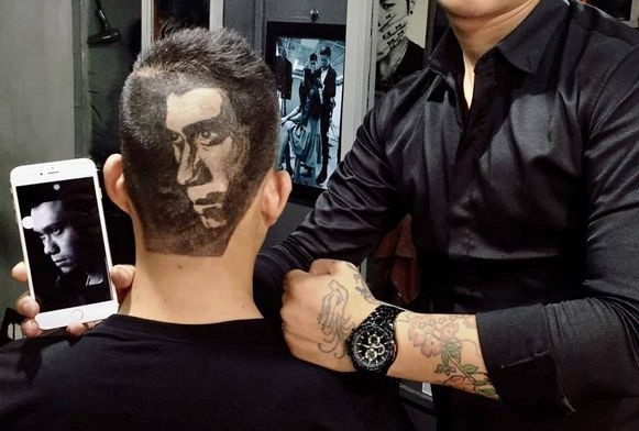 NSND Hoàng Dũng, H'Hen Niê được fan tạo hình chân dung lên đầu