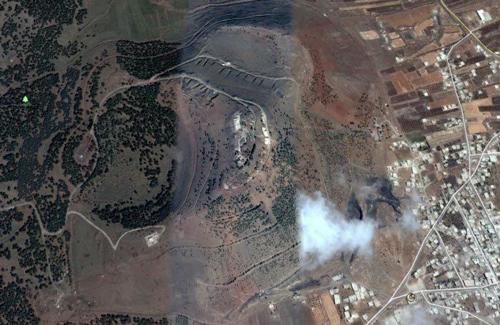 Israel,Syria,mưa tên lửa