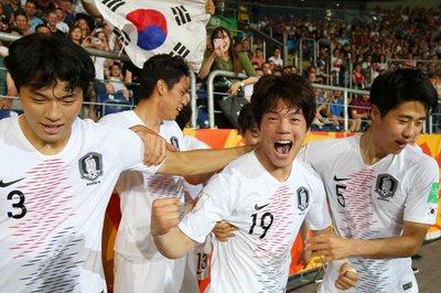 Hàn Quốc tạo địa chấn, lần đầu vào chung kết U20 World Cup