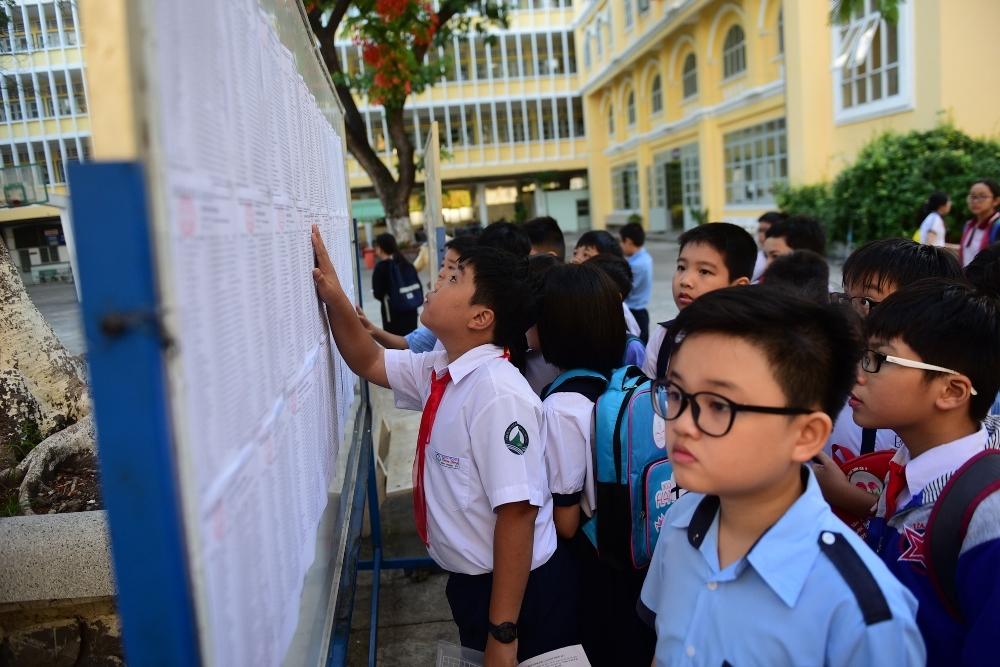 Hơn 4.000 thí sinh làm bài đánh giá năng lực vào lớp 6 'hot' nhất TP.HCM
