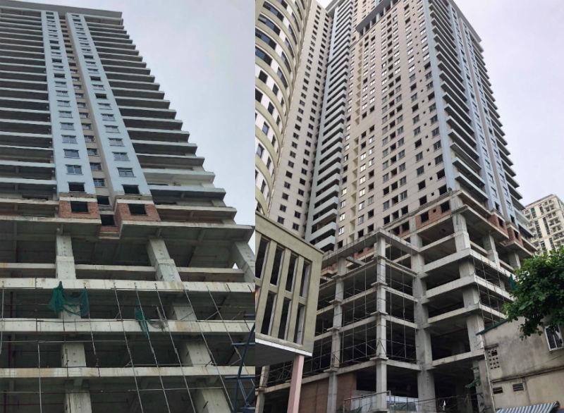 chung cư Golden Millennium,131 Thái Hà,Dự án Tokyo Tower,siết nợ,chung cư bỏ hoang,dự án bỏ hoang