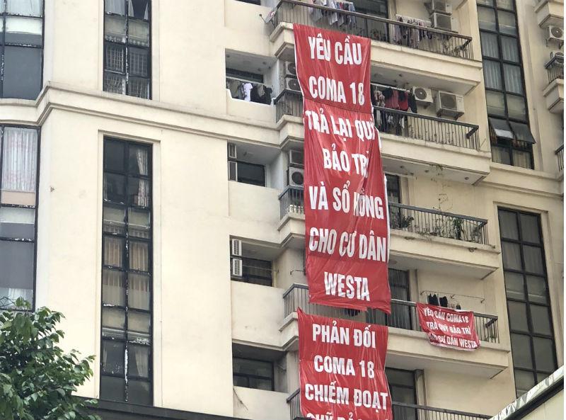 coma 18,ecolake view,dự án kiện,chủ đầu tư,tranh chấp chung cư,tranh chấp phí bảo trì,ăn gian diện tích căn hộ